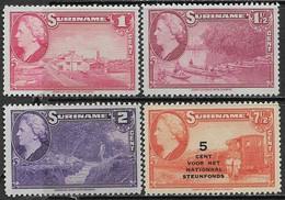 Surinam  1945  Sc#184-6, B91  MLH  2016 Scott Value $5.80 - Surinam