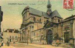 """CPA FRANCE 52 """"Chaumont, Le Lycée"""" - Chaumont"""