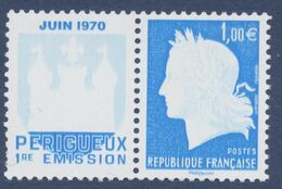 N° 4465  40 ème Anniversaire Du Premier Timbre Poste à L'imprimerie De Boulazac Marianne Cheffer Faciale 1,00 € - Ongebruikt