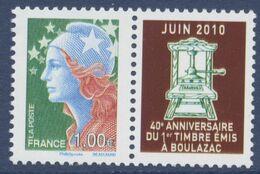 N° 4472  40 ème Anniversaire Du Premier Timbre Poste à L'imprimerie De Boulazac Marianne Beaujard Faciale 1,00 € - Ongebruikt