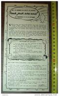 PUBLICITE TINTIN HERGE VENEZ JOUER AVEC NOUS À BOITSFORT DESSIN TINTIN - Collezioni