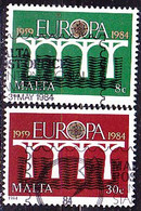 Malta - Europa (Mi.Nr.: 704/5) 1984 - Gest. Used Obl. - 1984