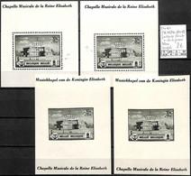 [842885]TB//**/Mnh-Belgique  - PR 45/46-V1+V2, Passage Coulté + Drapeau, Blocs Coupés - Private & Local Mails