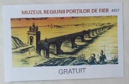 Romania / The Iron Gate Region Museum / Muzeul Regiunii Porţilor De Fier Aquarium / Turnu Severin -  Entry Tickets 2020 - Eintrittskarten