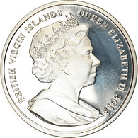 Monnaie, BRITISH VIRGIN ISLANDS, Dollar, 2013, Franklin Mint, Dernier Vol Du - British Virgin Islands