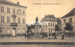 Monument Lodwig Robbe - Courtrai - Kortrijk - Kortrijk