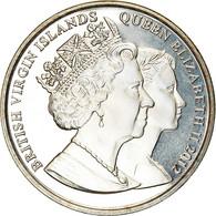 Monnaie, BRITISH VIRGIN ISLANDS, Dollar, 2012, Franklin Mint, Reine Elizabeth - British Virgin Islands