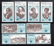 PALAU    SCOTT NO 33-40   MNH    YEAR  1983 - Palau
