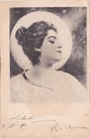 Bella Cartolina Viaggiata Nel 1901 Da Torino Per Corio Canavese - Donne