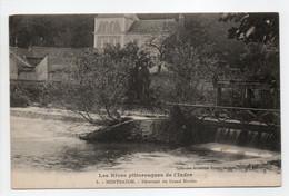 - CPA MONTBAZON (37) - Déversoir Du Grand Moulin - Collection Rouget N° 8 - - Montbazon
