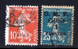 Cilicie 1920 Yvert 91 / 92 (o) B Oblitere(s) - Oblitérés
