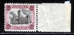 Belgique 1920 COB 182A ** TB 1er Tirage - Neufs