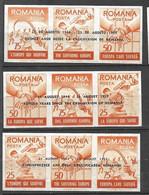 Roumanie Dallay N°15; 16 Et 17  Réfugiés  3 Surcharges Ang.Esp.R .Neufs  (* ) B/ TB Soldé  Le  Moins Cher Du Site ! ! ! - Refugees