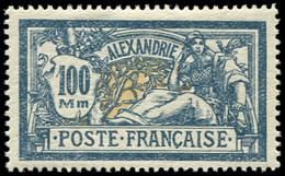 ALEXANDRIE - * N ° 79    100 Mm  Bleu Et Chamois  *    TB Cote : 17 - Ohne Zuordnung