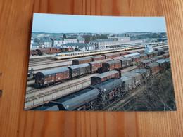 SNCF : Carte Postale Autorail Turbotrain ETG T 1000 à EVREUX (27) - Equipment