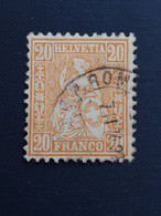 Suisse / Switzerland  Yt 53, Zum 48 1881 - Unclassified