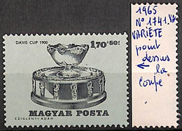 [828656]TB//**/Mnh-Hongrie 1965 - N° 1741-var, 1fo70+50fi, Point Dessus La Coupe, Sports, Tennis, Variété - Nuovi