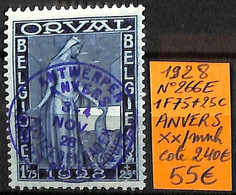 [831176]TB//**/Mnh-c:240e-Belgique 1928 - N° 266E, 1f75 + 25c, ANVERS - Unused Stamps