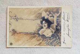 U.P.U. Cartolina Postale Artistica, Viaggiata Da Pistoa Per Pontelungo 1907 - Donne