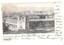SANTA BARBARA MISSION  Cal. In 1880 - - Santa Barbara