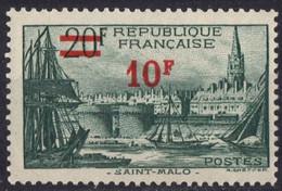 FRANCE N* 492 Charniere - Neufs