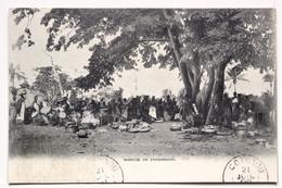 MARCHÉ DE ZAGNANADO - Dahomey
