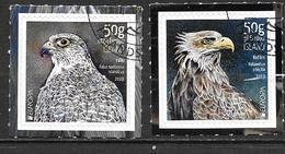 Islande 2019 Série Oblitérée Europa Oiseaux Faucon Et Pygargue - Usados
