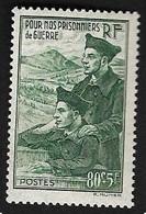 France N°474 Neuf * 1941 Charnière - Neufs