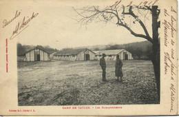 CAMP DE CAYLUS  Les BARAQUEMENTS - Caylus
