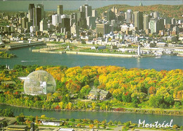 CPM - CANADA - MONTREAL - L'ILE SAINTE HELENE ET LE CENTRE VILLE - Montreal