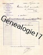 91 0201 CORBEIL ESSONNES 1926 Banque COMPTOIR NATIONAL D ESCOMPTE DE PARIS Dest VEDEL - Banque & Assurance