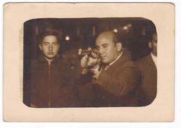 LUNA PARK - TIRO A SEGNO - FOTO FLASH - TIR A LA CARABINE - SHOOTING - FOTO ORIGINALE - Persone Anonimi