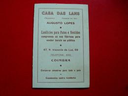 CPA PORTUGAL - CASA DAS LANS - COIMBRA - TORRE DE SANTA CRUZ - ANTES E NA OCASIÃO DO SEU DESMORONAMENTO (IT#2686) - Coimbra