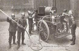 Pompiers - Manoeuvre De La Pompe électrique - Otros