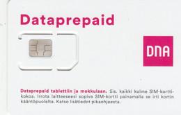 Finland - DNA (standard,micro, Nano SIM) - GSM SIM - Mint - Finlandia