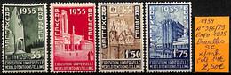 [831520]TB//*/Mh-c:14e-Belgique 1934 - N° 386/89, Série Complète, Bruxelles, Exposition - Nuevos