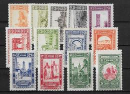 Algerie Yv. 87 - 99 Neufs TB - Unused Stamps