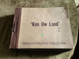 """Plakboek / """"Ken Uw Land"""" -  Chromodienst De Beukelaar Cichorei / Vaartlaan 5, Antwerpen (volledige Reeks) - Encyclopedia"""