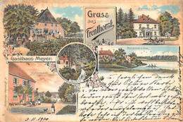 TRENTHORST GERMANY~GASTHAUS MEYER-HOFSTRASSE-HERRENHAUS~1900 J HAMANN MULTI IMAGE POSTCARD 50370 - Altri