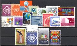 Nations Unies: Lot 18 Valeurs; A étudier - Gebraucht
