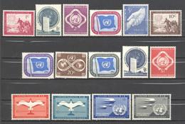 Nations Unies: Yvert N° 1/11** A 1/4**; MNH; A PROFITER - Gebraucht