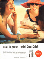 "PUB    "" COCA COLA  ""  1960  ( 22 ) - Affiches Publicitaires"