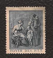 TIMBRE DE BIENFAISANCE..FOYER DES PTT..1926.. N°3 BLEU ..PAS COURANT .VOIR SCAN - Sonstige