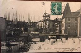 Cpa De 1907, Agen (47) Le Musée - Construction Du Nouveau Théâtre, éd P.P, écrite - Agen
