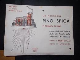FARMACIA PINO SPICA DI FOSSALTA DI PIAVE(VENEZIA) - Altri