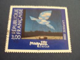 """1990-99- Oblitéré   N° 3145   """"  Magritte  """"     """"   STRASBOURG""""    -     Net 0.40  Photo 1 - Used Stamps"""