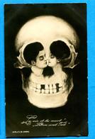B570, Illusion D'optique, Optical Illusion, Tête De Mort, Darwin's Theory, La Vie Et La Mort, Non Circulée - Sonstige