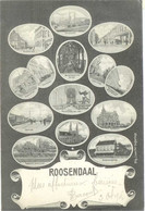 Roosendaal. Oude Briefkaart. Zeldzaam. Voortreffelijke Stand. 14 Standpunt Van Roosendaal. CPA Multivues. TBE - Roosendaal