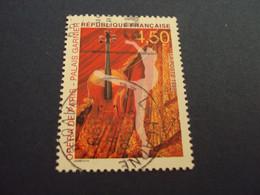 "1990-99- Oblitéré   N° 3180   ""    Opéra Garnier    ""     ""  La Plagne   ""     -     Net 0.30 - Used Stamps"