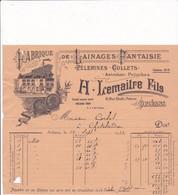 45-H.Lemaitre..Lainages Fantaisie, Pélerines, Collets, Astrakan-Peluches....Orléans....(Loiret)....1932 - Vestiario & Tessile